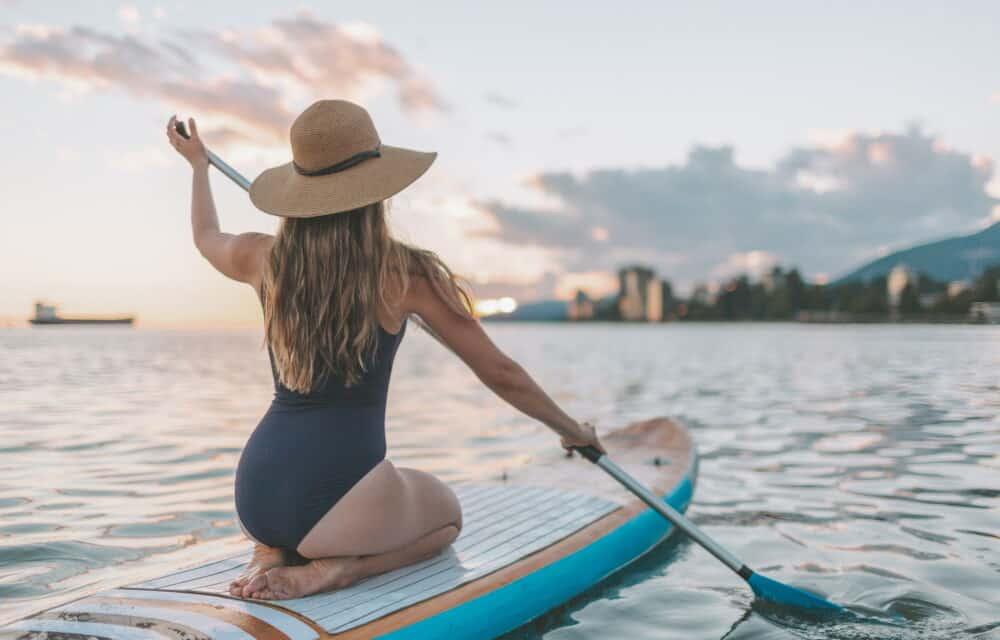 Sport d'estate: i benefici del SUP